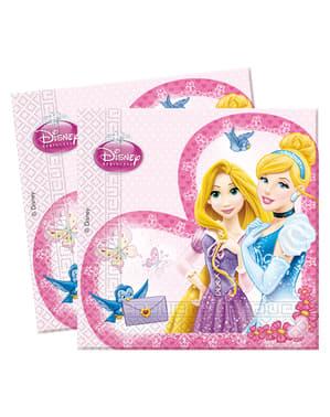 Disney Luksus Prinsesser Serviett Sett