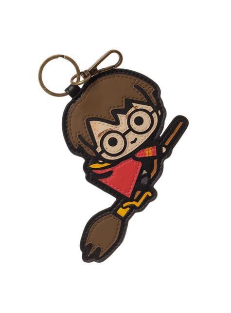 Llavero de Harry Potter Chibi Quidditch