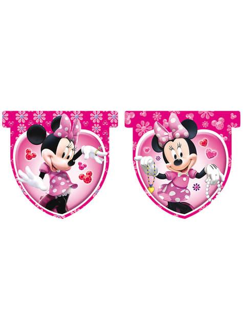 Bandery różowe Minnie Mouse