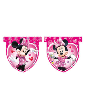 Fanion rose Minnnie Mouse