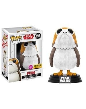 Funko POP! Porg velours - Star Wars: Les Derniers Jedi
