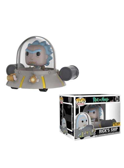 Funko Pop! Rides: Rick en nave espacial - Rick y Morty