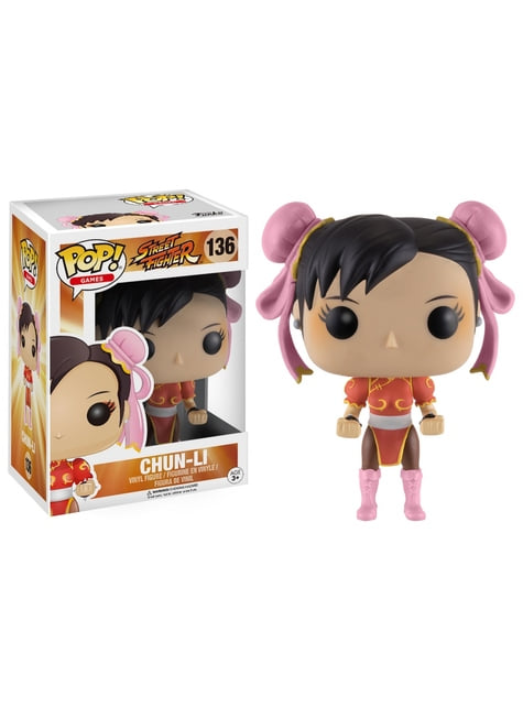 Funko POP! Chun-Li vestido rojo - Street Fighter