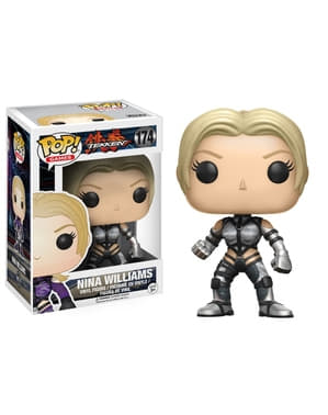 Funko POP! Nina Williams traje plateado - Tekken