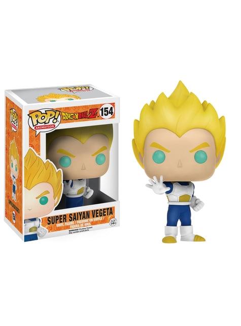 Funko POP! Super Saiyan Vegeta azul y blanco - Dragon Ball