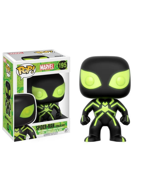 Funko POP! Spiderman phosphorescent GITD