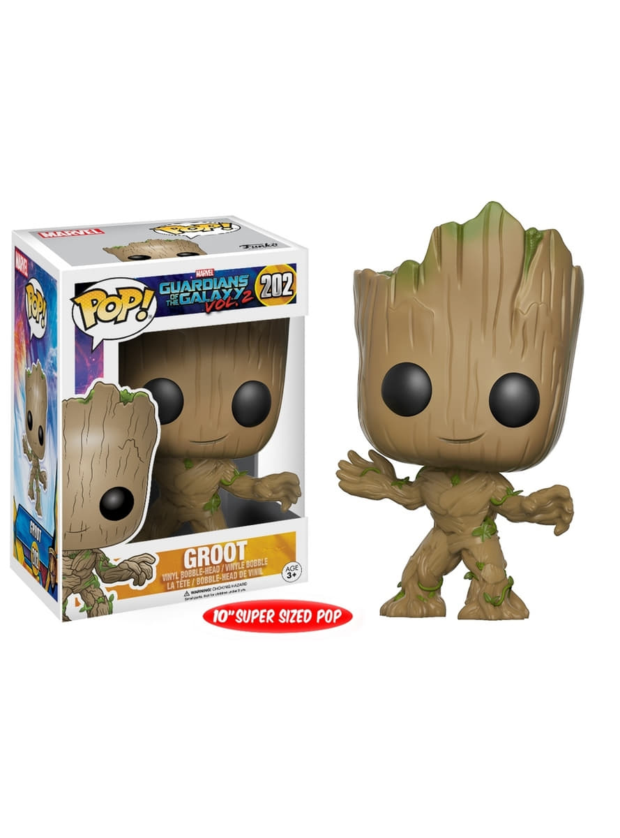 Funko Pop 10 Quot Young Groot Guardians Of The Galaxy For