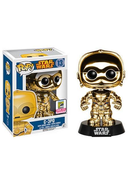 Funko POP! C-3PO Chrome - מלחמת הכוכבים