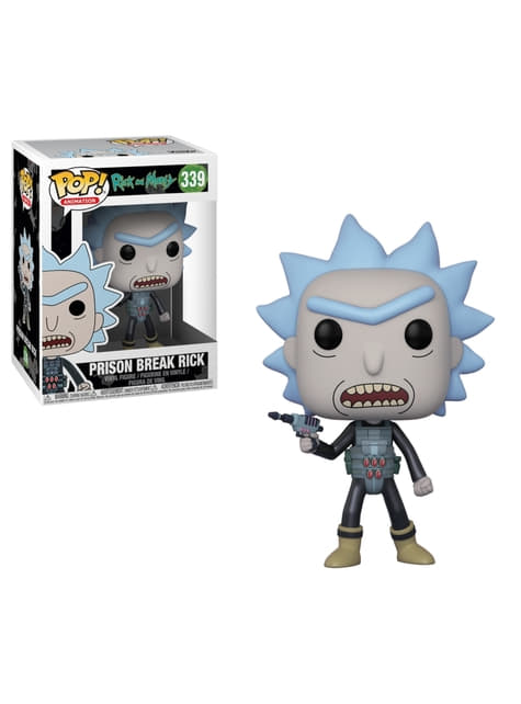 Funko POP! Rick fugitivo - Rick y Morty
