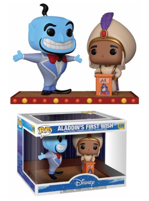 Funko POP! 2 Pack: Aladdin y Génie -Le premier souhait