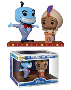 Funko POP! Aladdin & Genio de la lámpara - Aladdin's First Wish