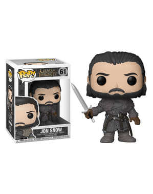 Funko POP! Jon Snow Beyond the Wall - Játék a trónokról