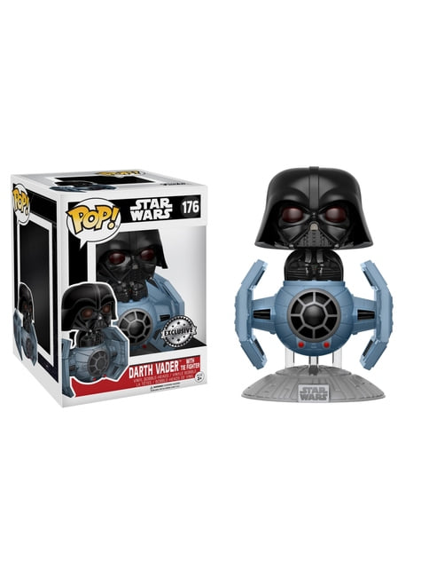 Funko POP! Deluxe Ride: Darth Vader y nave Tie Fighter - Star Wars