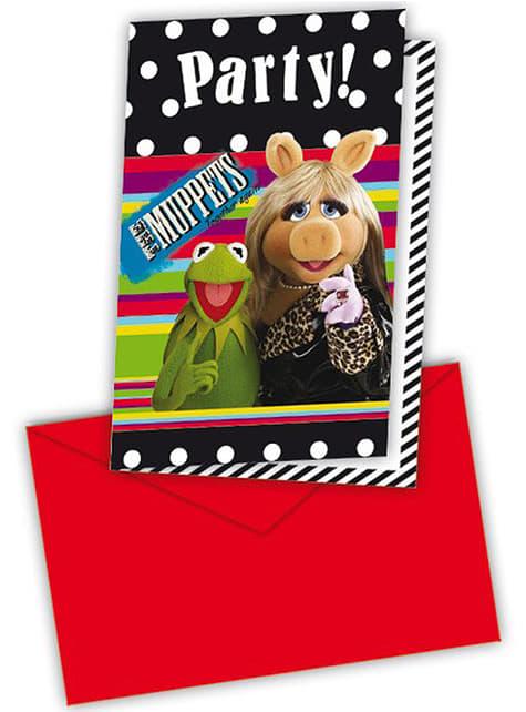 Set de invitaciones The Muppets