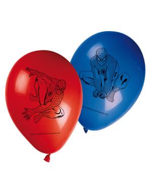 Lot de ballons Spiderman