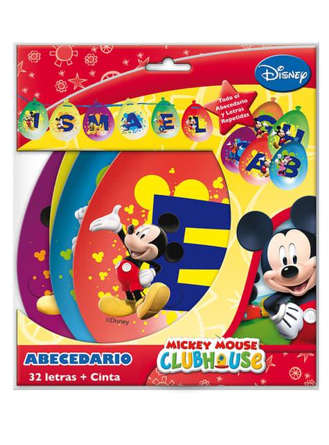Abecedário Mickey Mouse Clubhouse