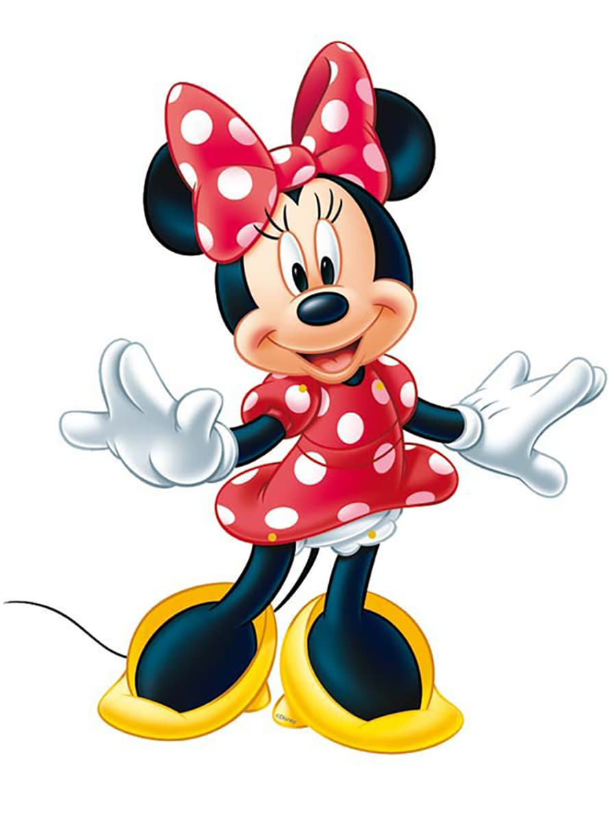 Minnie mouse cut out figure fast delivery funidelia - Image de minnie ...