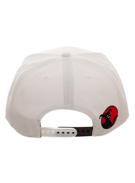 Gorra de Harley Quinn blanca