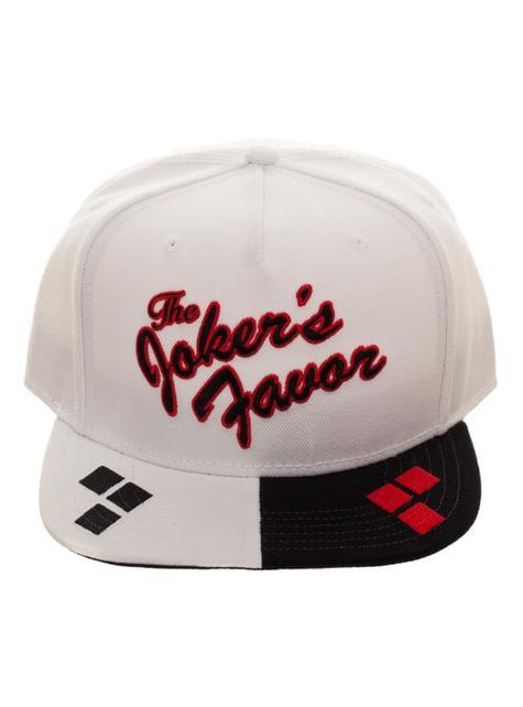 Gorra de Harley Quinn blanca - oficial