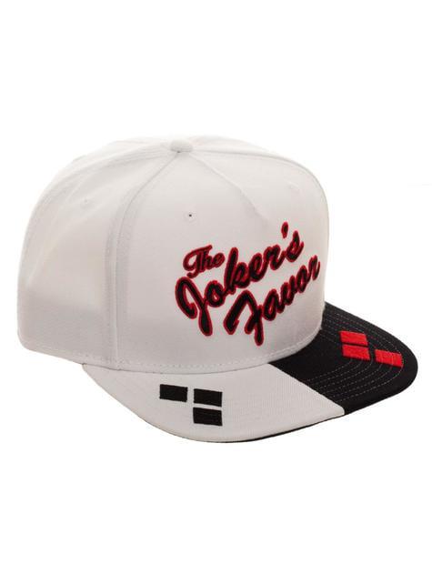 Gorra de Harley Quinn blanca - comprar
