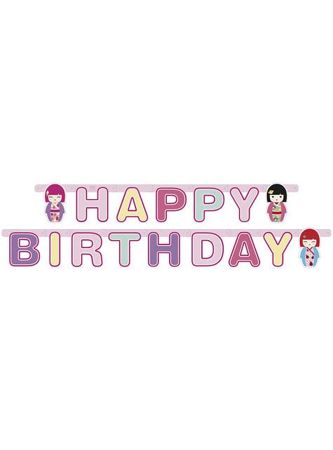 Grinalda Happy Birthday Kimmi Junior