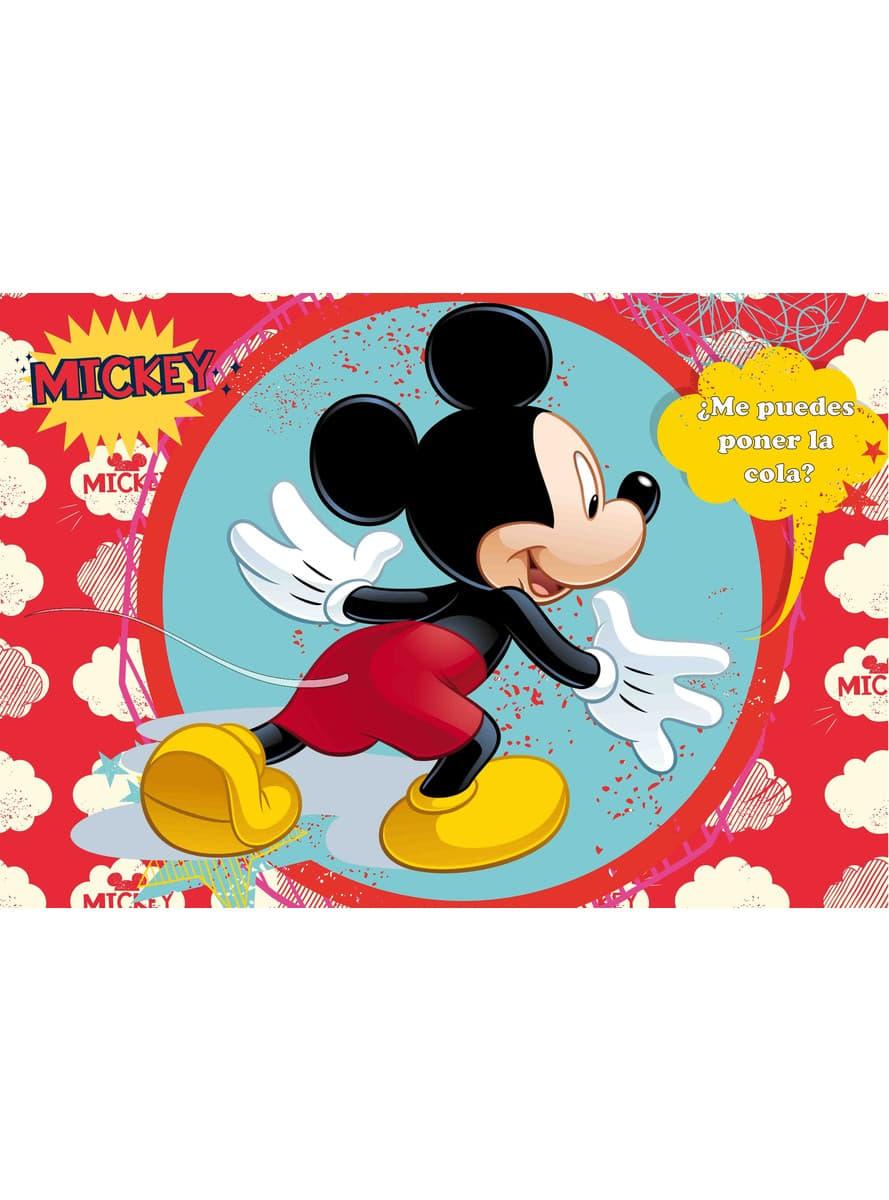 Juego Ponle la cola a Mickey Mouse Clubhouse disfraz   Funidelia