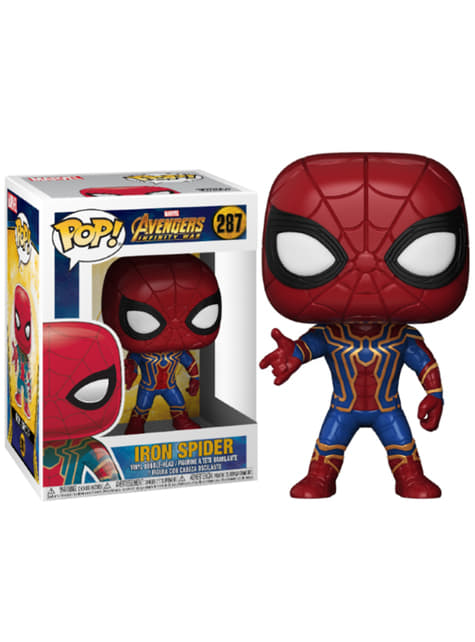 Funko POP! Bobble: Iron Spider - Los Vengadores: Infinity War