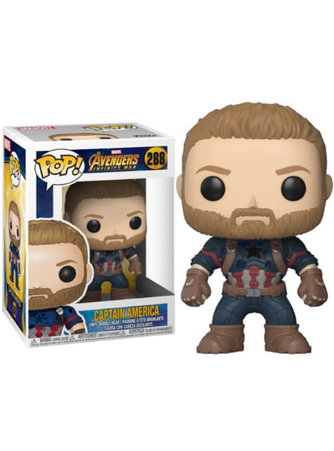 Funko POP! Bobble: Captain America - Avengers: Infinity War