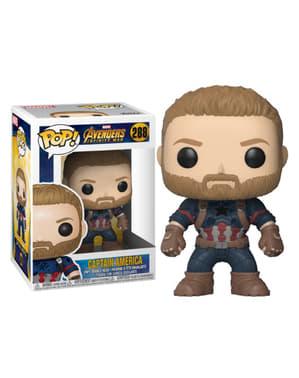 Funko POP! Bobble: Capitán América - Los Vengadores: Infinity War