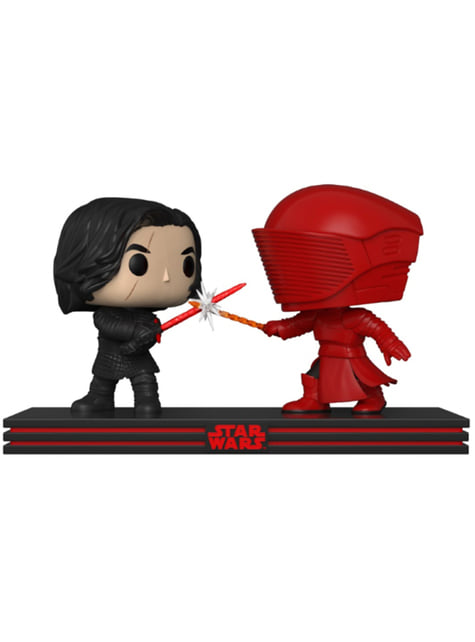 Funko POP! Kylo & Guardia Pretoriano - Star Wars The Last Jedi - oficial