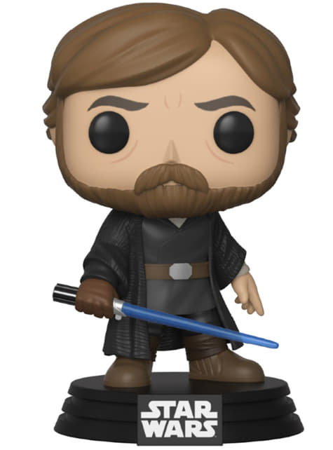 Funko POP! Luke Skywalker (Batalla Final) - Star Wars The Last Jedi