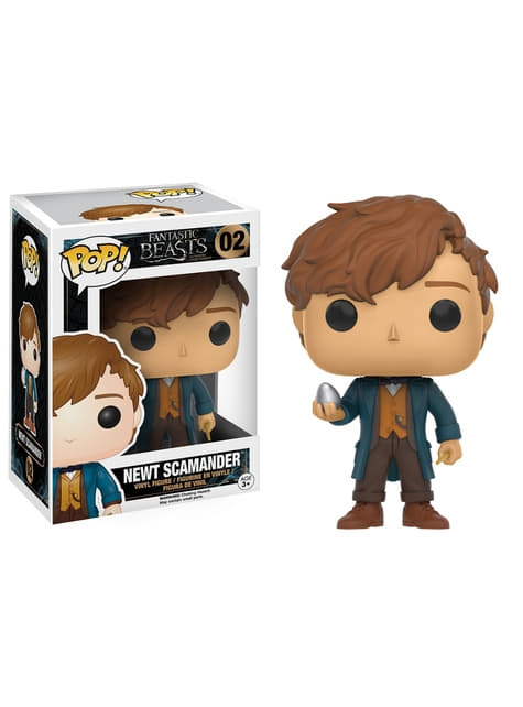 Funko POP! Newt Scamander with Egg - Fantastic Beasts