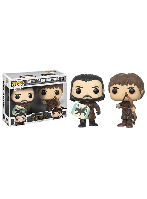 Funko POP! 2 Pack: Jon Snow et Ramsay Bolton (Battle of the Bastards) - Game of Thrones