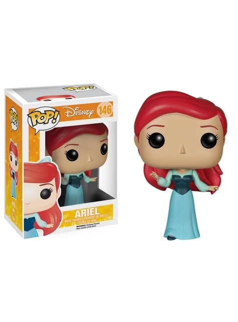 Funko POP! Ariel with Blue Dress - The Little Mermaid