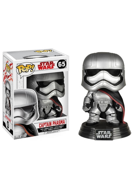 Funko POP! Bobble Capitana Phasma - Star Wars: El Despertar de la Fuerza