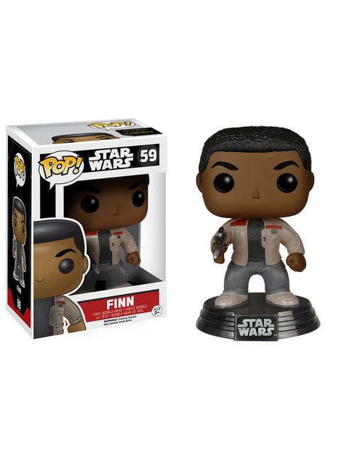 Funko POP! Bobble Finn - Star Wars: El Despertar de la Fuerza