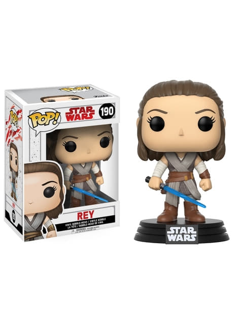 Funko POP! Bobble Rey - Star Wars: The Last Jedi