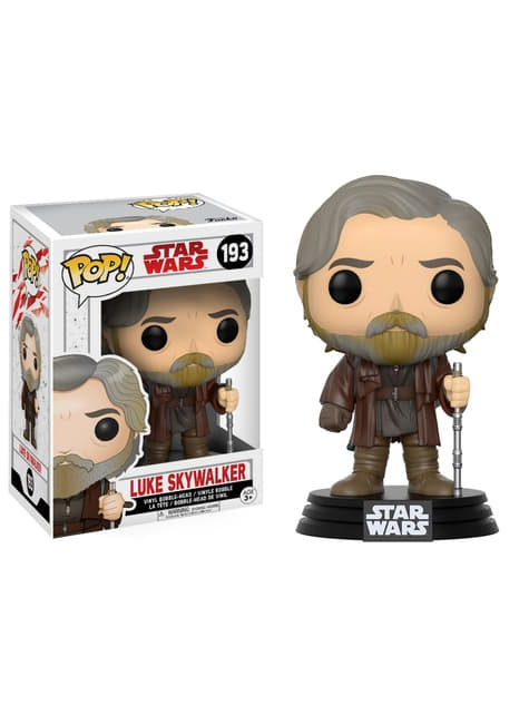 Funko POP! Bobble Luke Skywalker - Star Wars: The Last Jedi