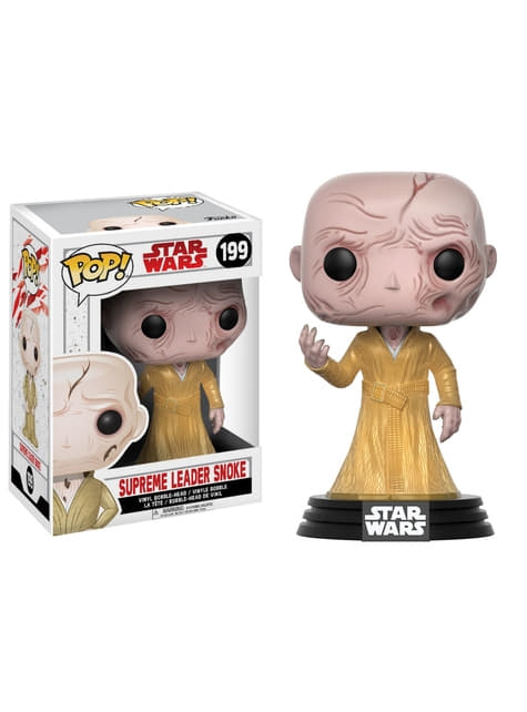 Funko POP! Bobble Líder Supremo Snoke - Star Wars The Last Jedi