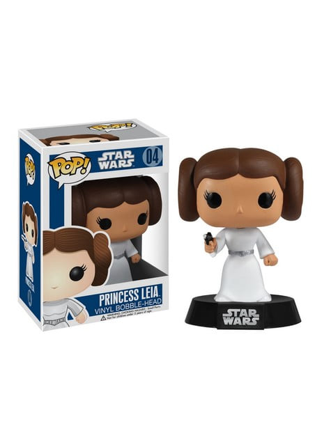 Funko POP! Bobble Princesse Leia - Star Wars