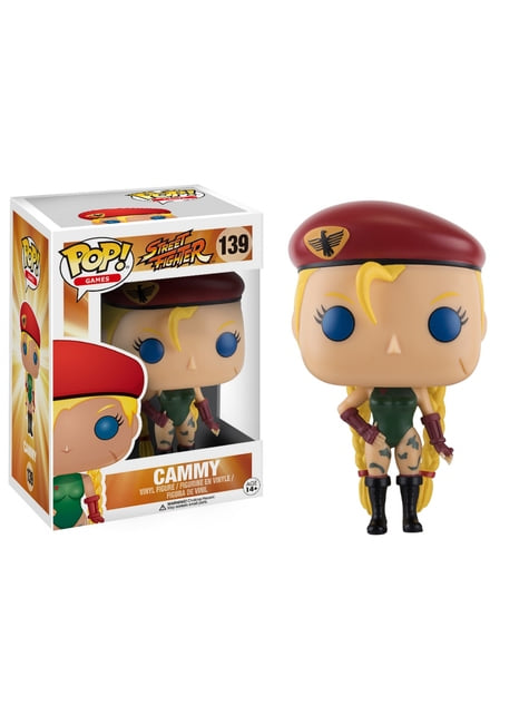 Funko POP! Cammy - Street Fighter