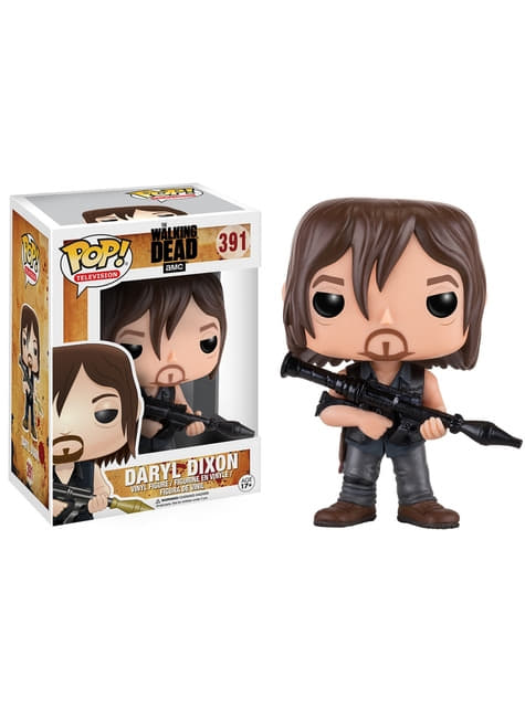 Funko POP! Daryl Dixon con lanzacohetes - The Walking Dead
