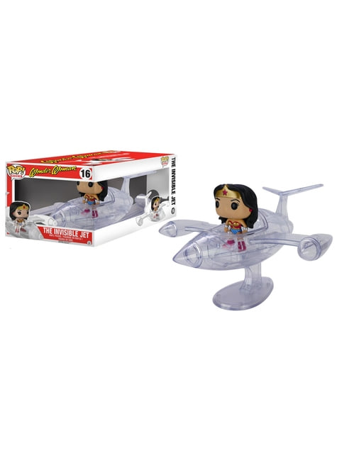 Funko POP! Rides: Wonder Woman & Invisible Jet
