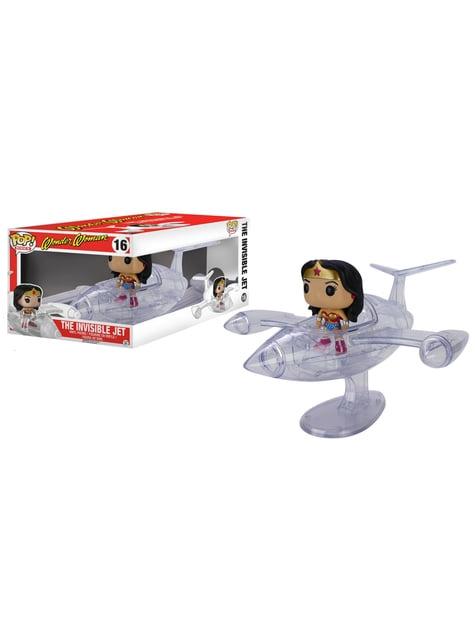 Funko POP! Rides: Wonder Woman en avión invisible