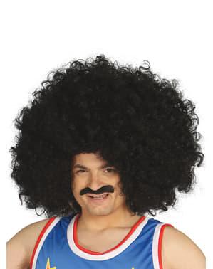 Gigantic Black Curly Wig