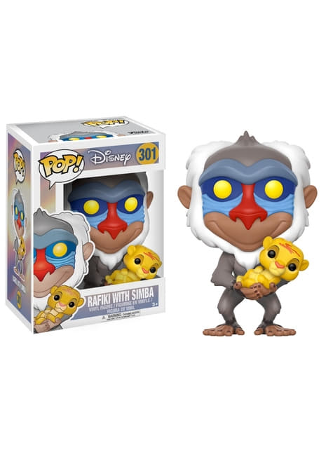Funko POP! Rafiki with Baby Simba - The Lion King