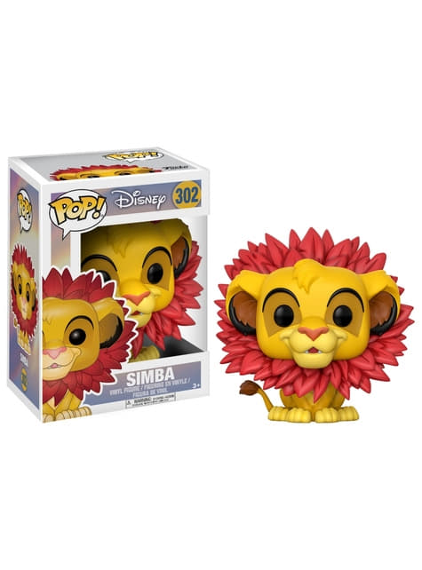 Funko POP! Simba with Leaf Mane - The Lion King