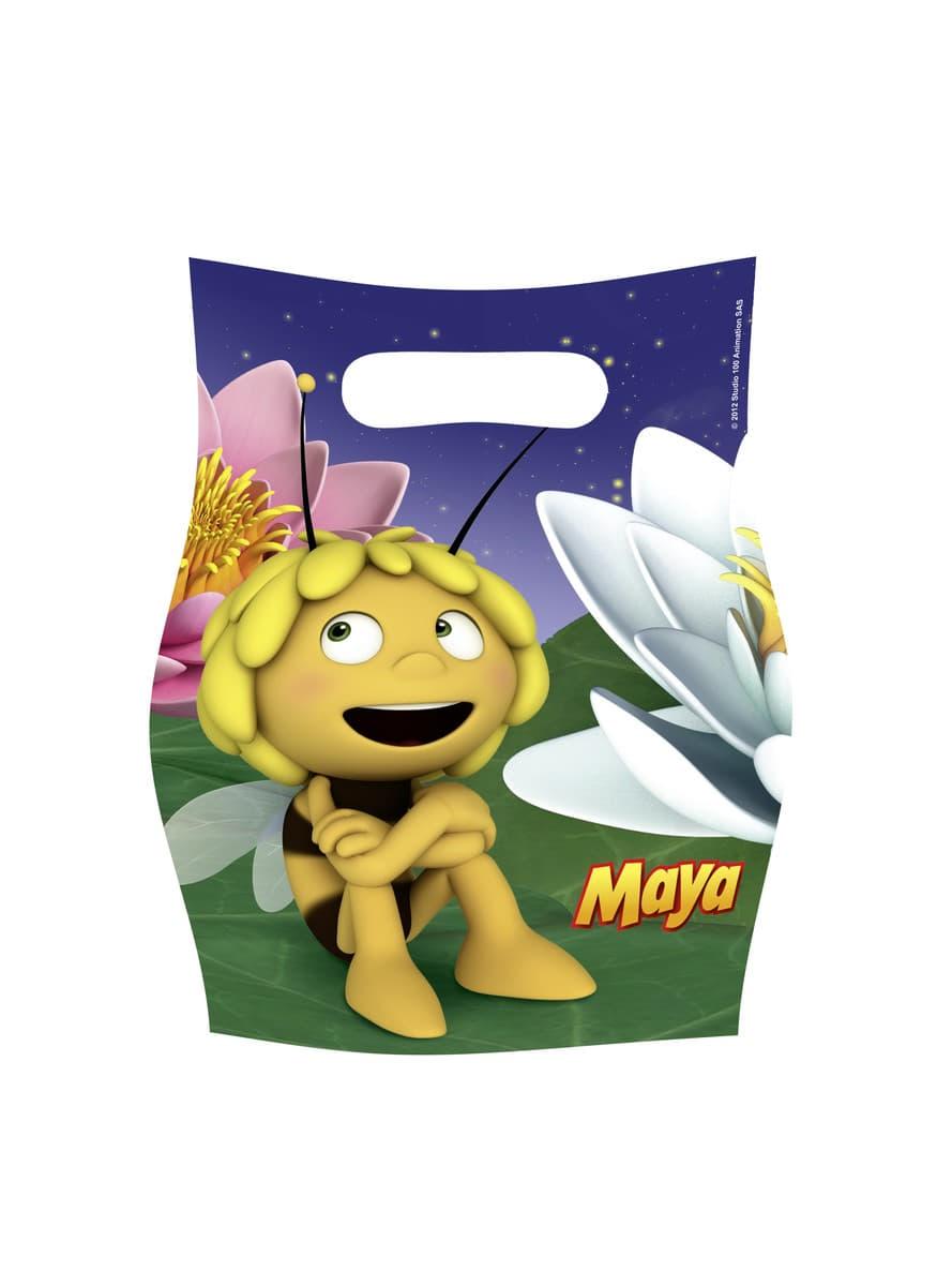 lot de sacs pour friandises ou jouets maya l 39 abeille pour d guisement funidelia. Black Bedroom Furniture Sets. Home Design Ideas