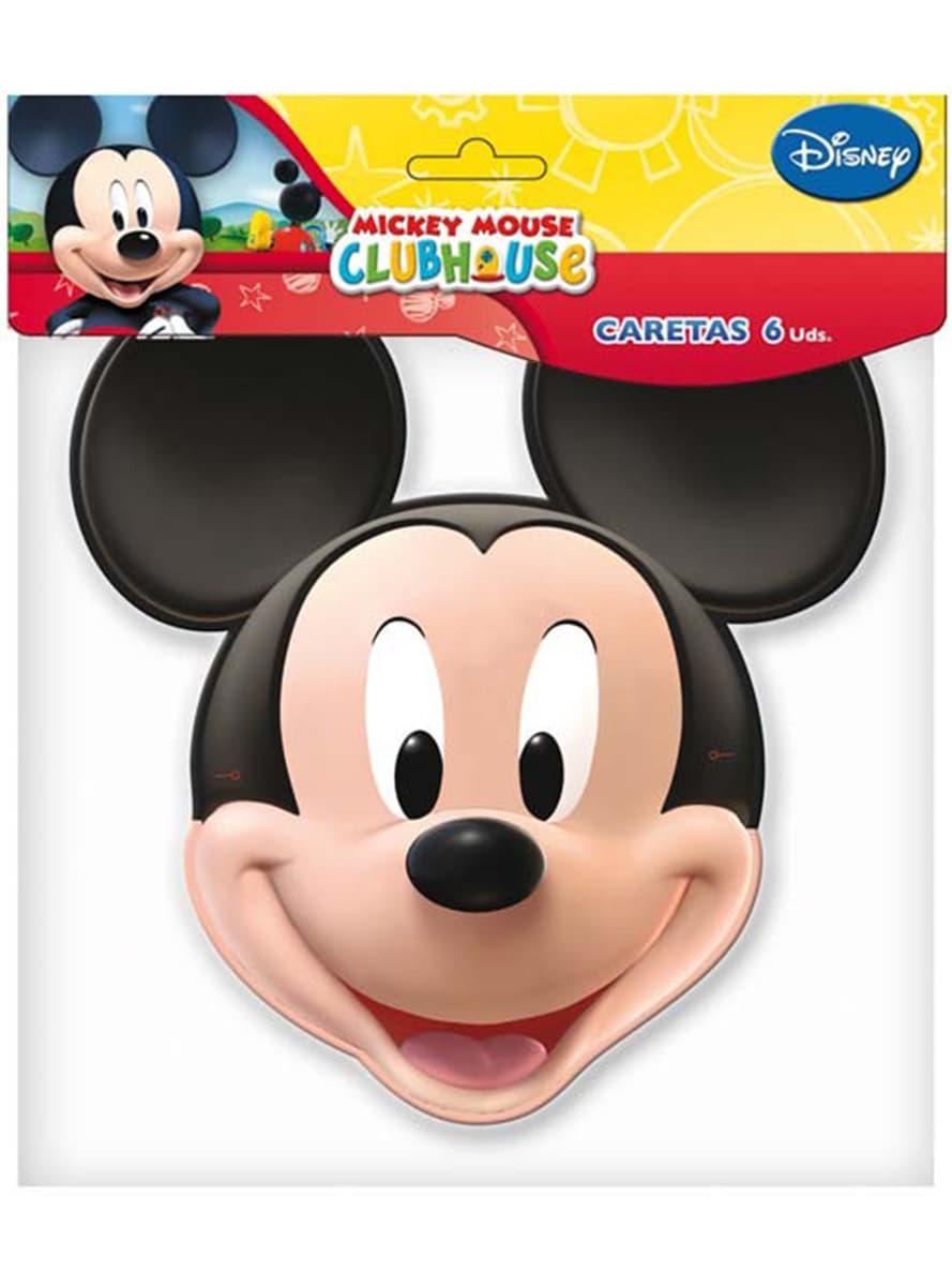 mickey mouse clubhouse masken set f r partys und geburtstage funidelia. Black Bedroom Furniture Sets. Home Design Ideas