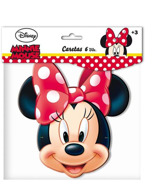 Set de caretas Minnie Mouse